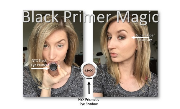Black Eye Shadow Primer