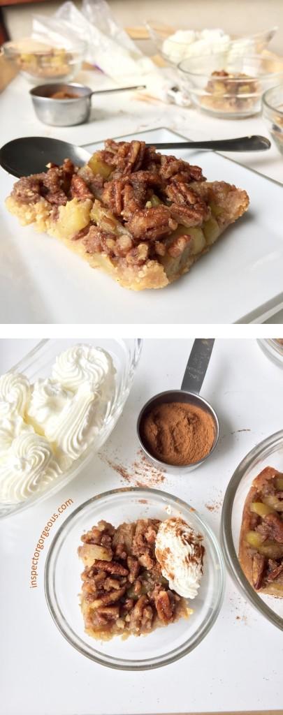 Caramel Zucchini Crumle with Cinnamon