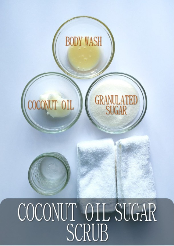 Simple Moisturizing Sugar Scrub