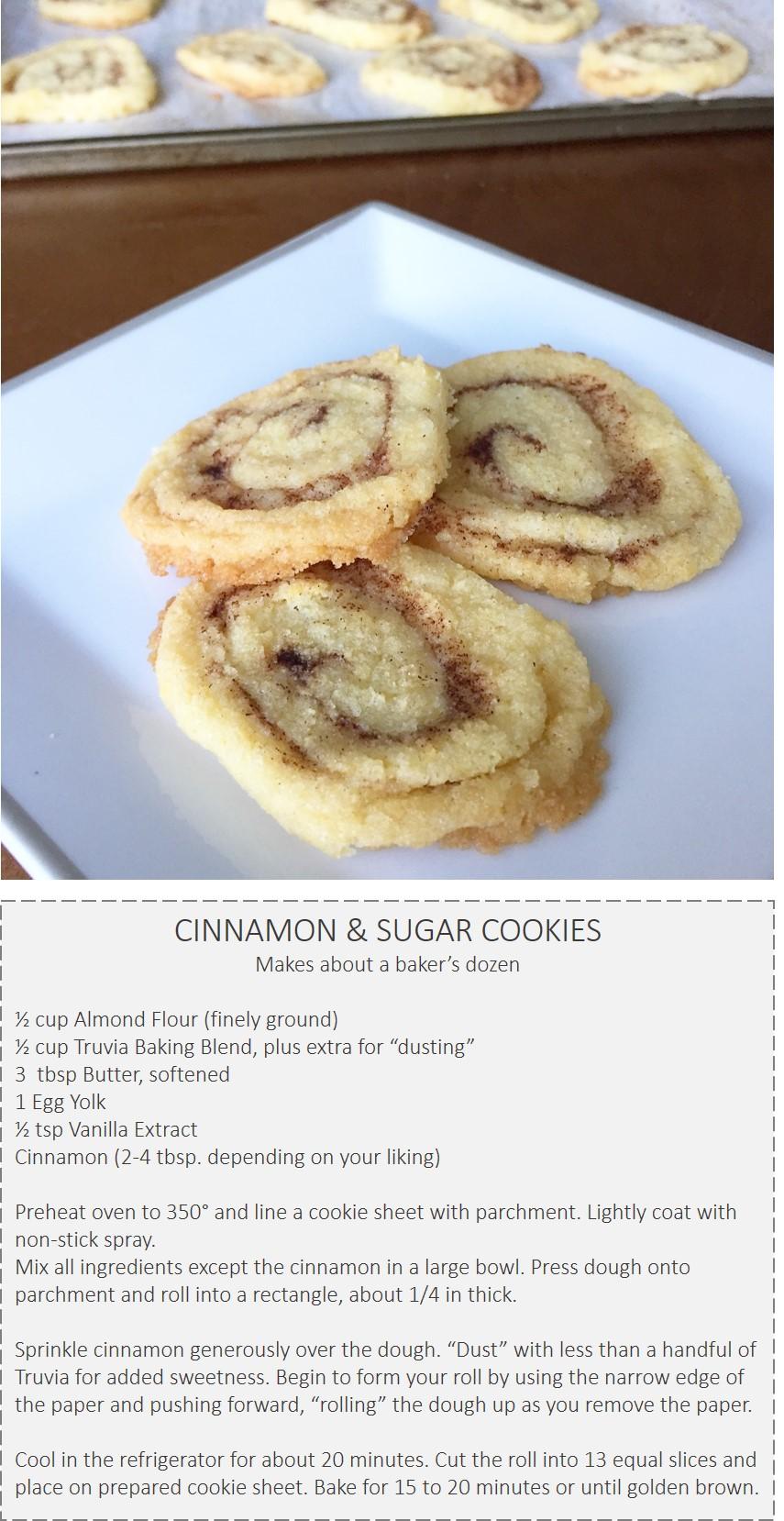 Gluten Free Cinnamon and Sugar Cookies