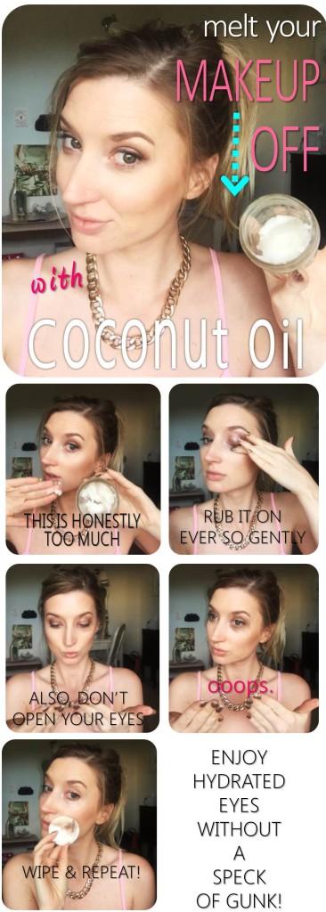 Melt your makeup off
