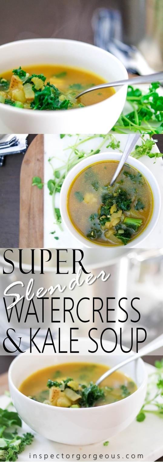 Super Slender Watercress and Kale Soup