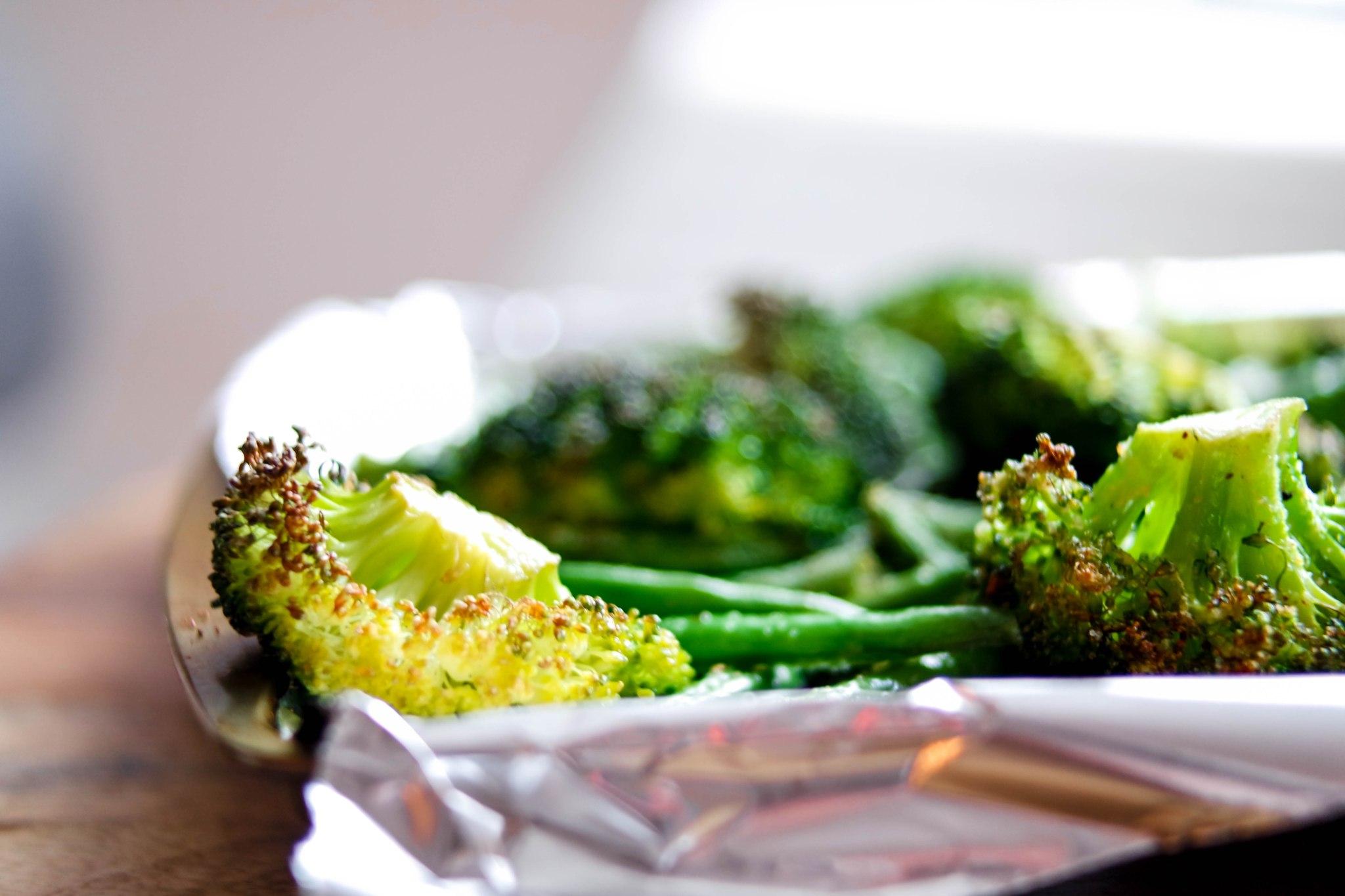 Roasted Broccoli with Avocado Oil
